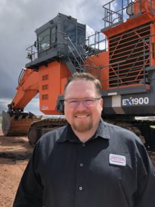 Mining Equipment Dealer in Gillette, WY branch manager Adam Coleman