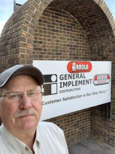 General Implement Distributors Billings Branch Manager Jim Hove