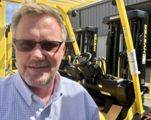 Forklift Dealer in Colorado Springs, CO branch manager John Collacott