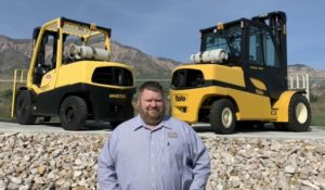 Utah Forklift Dealer in Ogden branch manager Josh Kindall