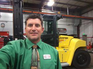 Colorado Material Handling Equipment in Denver branch manager Mark Hudson