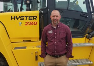 Arnold Machinery Salt Lake City Material Handling Branch Manager Russ Curtis