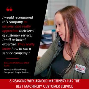 Best Machinery Customer Service